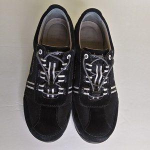 Dansko Helen Suede Black Sneaker Size EU 40